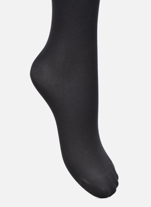 Socks & tights Dim Tights BEAUTY RESIST OPAQUE Pack of 2 Black view from the left