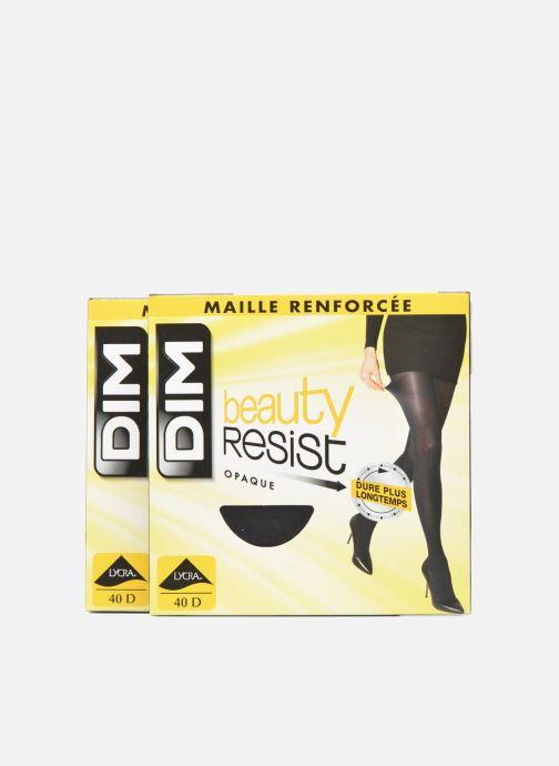 Sokken en panty's Dim Panty BEAUTY RESIST OPAQUE 2-pack Zwart detail