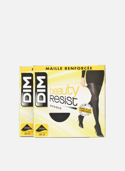 Socks & tights Dim Tights BEAUTY RESIST OPAQUE Pack of 2 Black detailed view/ Pair view