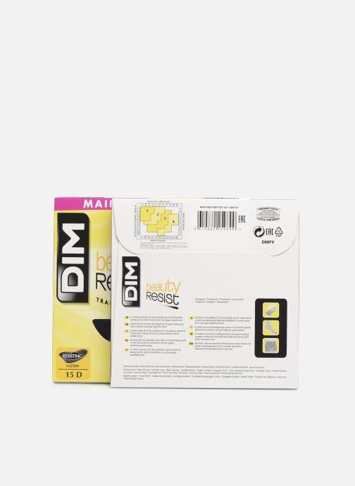 Calze e collant Dim Collant BEAUTY RESIST TRANSPARENT Pacco da 2 Nero modello indossato