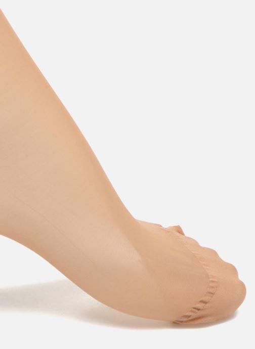 Socken & Strumpfhosen Dim Strumpfhose BODYTOUCH VOILE farblos ansicht von hinten