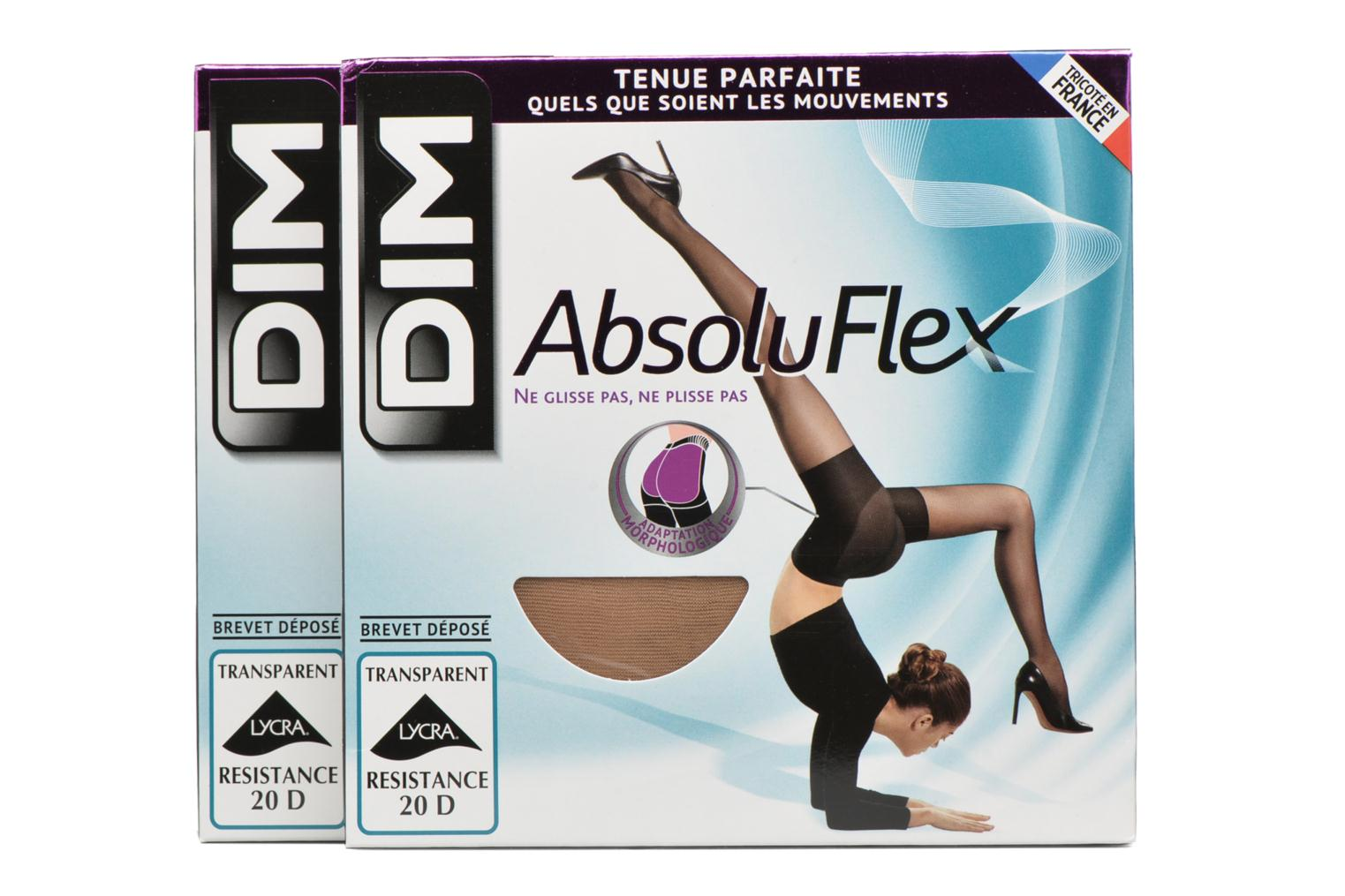 Calze e collant Accessori Collant ABSOLU FLEX TRANSPARENT Pacco da 2