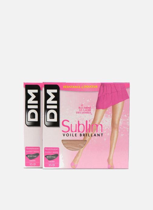 Chaussettes et collants Dim Collant SUBLIM VOILE BRILLANT Pack de 2 Incolore vue détail/paire
