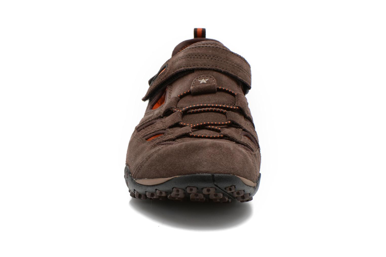 Chaussures de sport ALLROUNDER Tarantino Marron vue portées chaussures