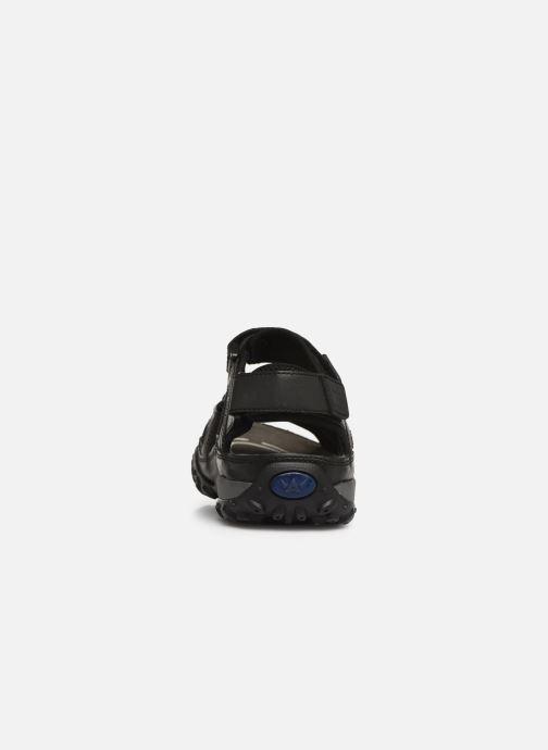 Sandales et nu-pieds ALLROUNDER Regent Noir vue droite