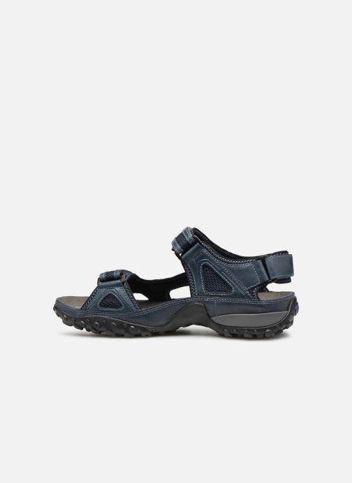 Sandales et nu-pieds ALLROUNDER Regent Bleu vue face