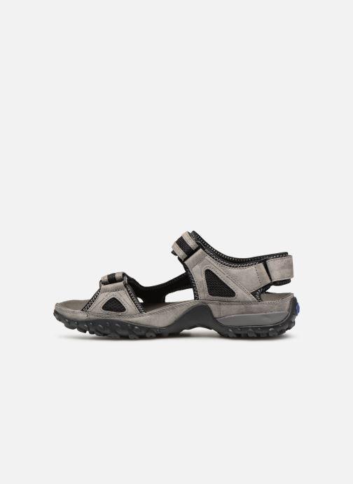 Sandales et nu-pieds ALLROUNDER Regent Gris vue face