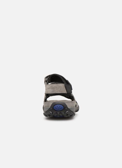 Sandales et nu-pieds ALLROUNDER Regent Gris vue droite