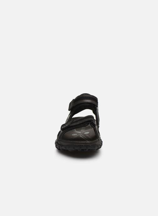 Sandalen ALLROUNDER Regent schwarz schuhe getragen