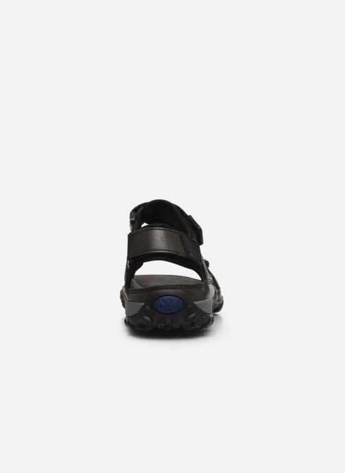 Sandalen ALLROUNDER Regent schwarz ansicht von rechts