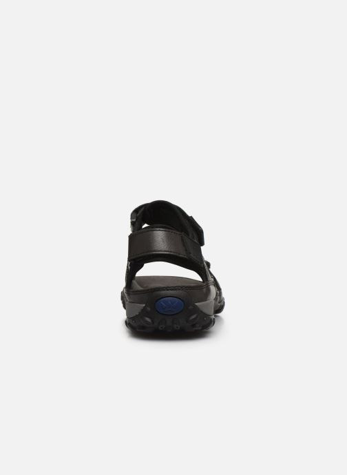 Sandali e scarpe aperte ALLROUNDER Regent Nero immagine destra