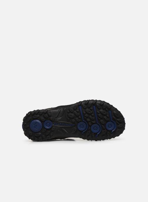 Sandalen ALLROUNDER Regent schwarz ansicht von oben