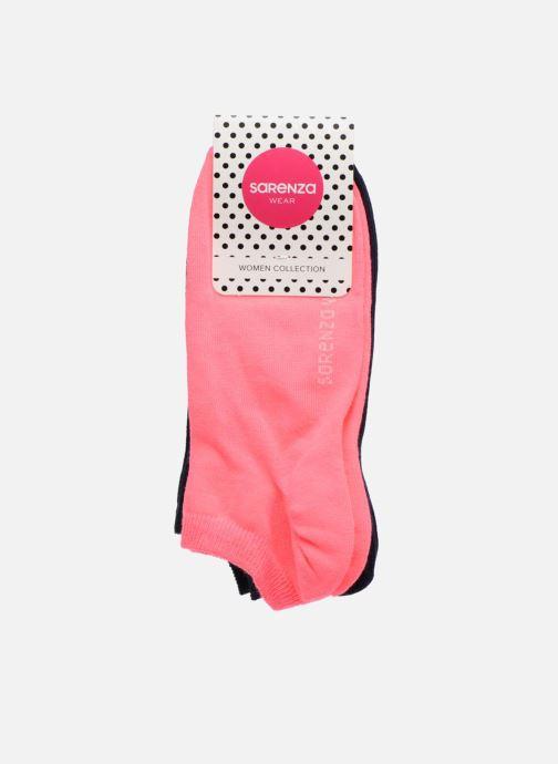 Socken & Strumpfhosen Sarenza Wear Transparente Socken unies 2er-Pack blau schuhe getragen