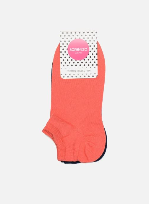 Chaussettes et collants Sarenza Wear Chaussettes invisibles unies Pack de 2 Orange vue portées chaussures