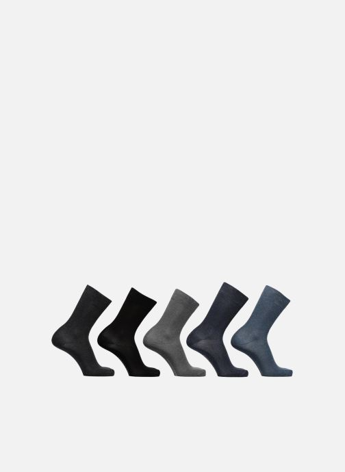 Chaussettes et collants Sarenza Wear Chaussettes Homme Pack de 5 Unies coton Multicolore vue détail/paire