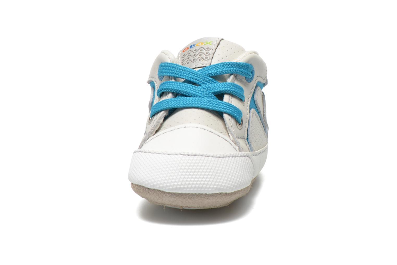 Baskets Geox B Ian B4252A Blanc vue portées chaussures
