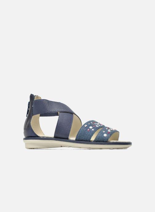 Sandales et nu-pieds Geox JR Sandal Milk J52D1E Bleu vue derrière