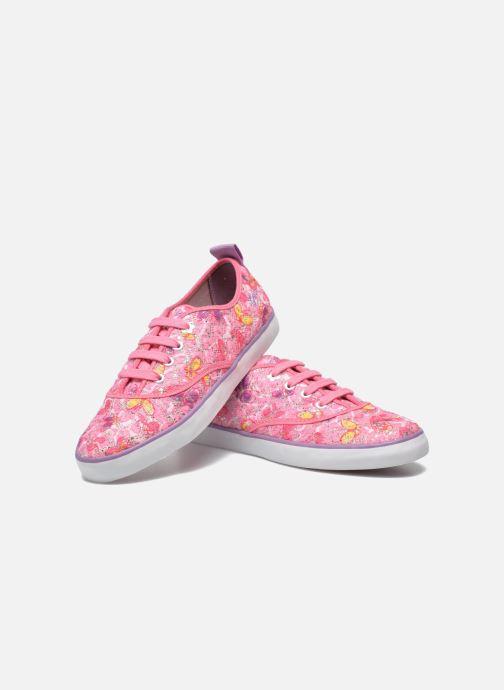Sneakers Geox JR Ciak Girl J5204E Roze 3/4'