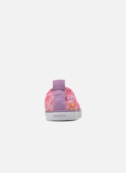Sneakers Geox JR Ciak Girl J5204E Roze rechts