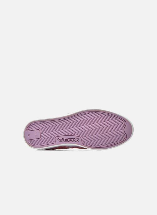 Sneakers Geox JR Ciak Girl J5204E Roze boven