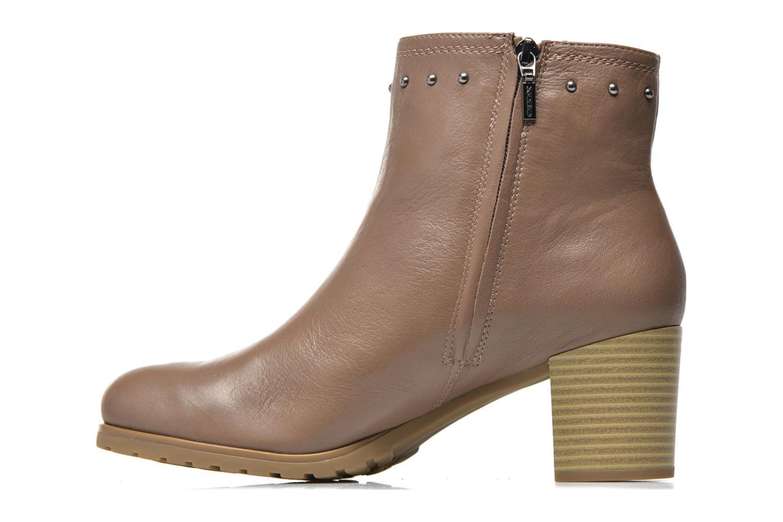 Bottines et boots Geox D Lise ABX D52D1C Marron vue face