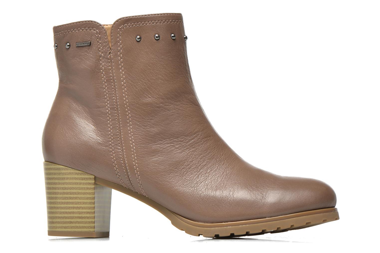 Bottines et boots Geox D Lise ABX D52D1C Marron vue derrière