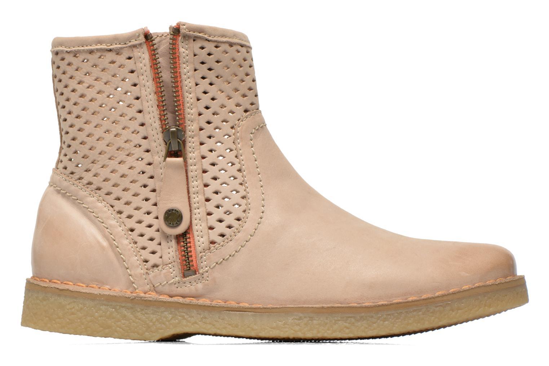 Bottines et boots Geox D Wilder D52L3B Beige vue derrière