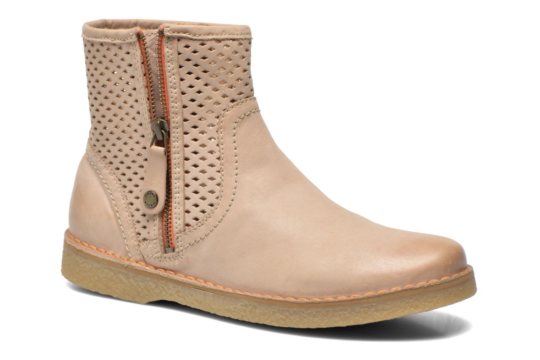 Bottines et boots Geox D Wilder D52L3B Beige vue détail/paire