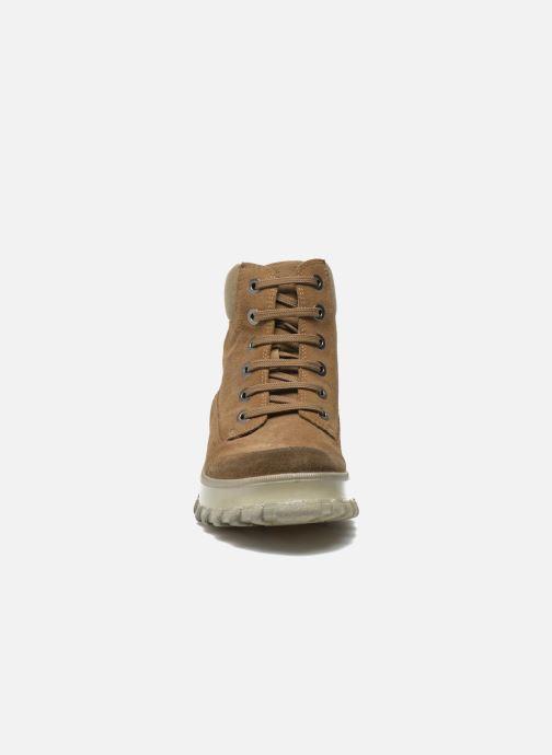 Bottines et boots Geox D Yeti B ABX D44U1B Vert vue portées chaussures