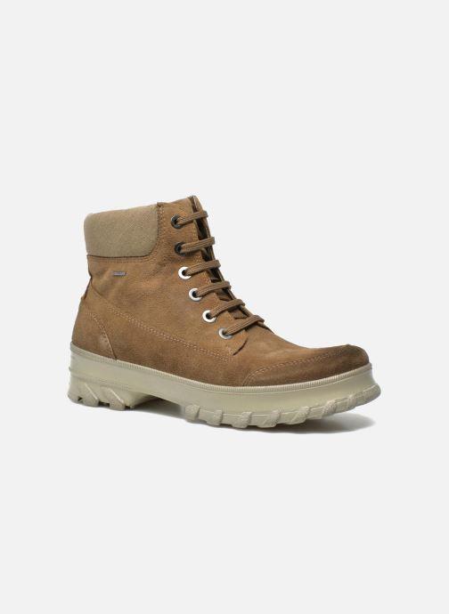 Bottines et boots Geox D Yeti B ABX D44U1B Vert vue détail/paire