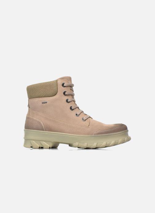 Boots en enkellaarsjes Geox D Yeti B ABX D44U1B Beige achterkant