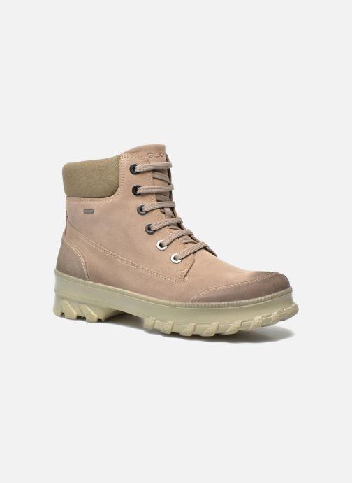 3ca1b5cd476617 Stiefeletten   Boots Geox D Yeti B ABX D44U1B beige detaillierte  ansicht modell
