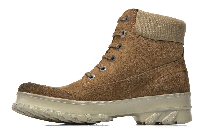 Boots en enkellaarsjes Geox D Yeti B ABX D44U1B Groen voorkant