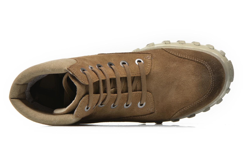 Boots en enkellaarsjes Geox D Yeti B ABX D44U1B Groen links