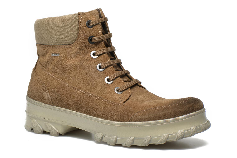 Boots en enkellaarsjes Geox D Yeti B ABX D44U1B Groen detail