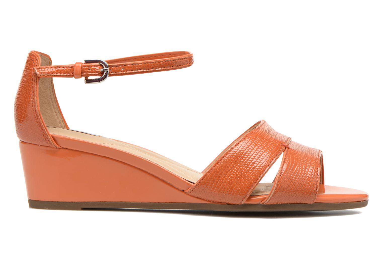 Sandales et nu-pieds Geox D Lupe D5283C Orange vue derrière