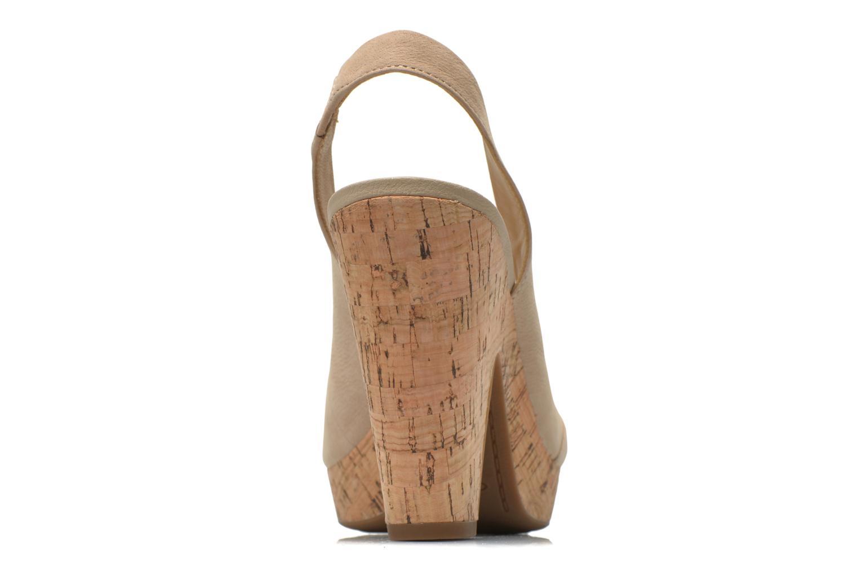 Sandales et nu-pieds Geox D Nurit D5271B Beige vue droite