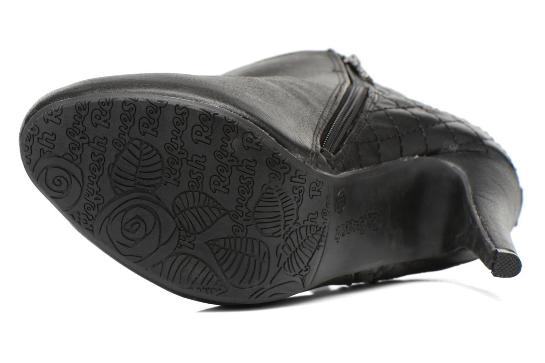 Bottines et boots Refresh Elise-61121 Noir vue haut