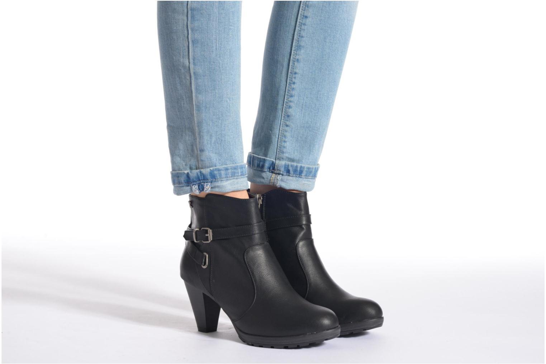 Bottines et boots Refresh Lisa-61174 Noir vue bas / vue portée sac