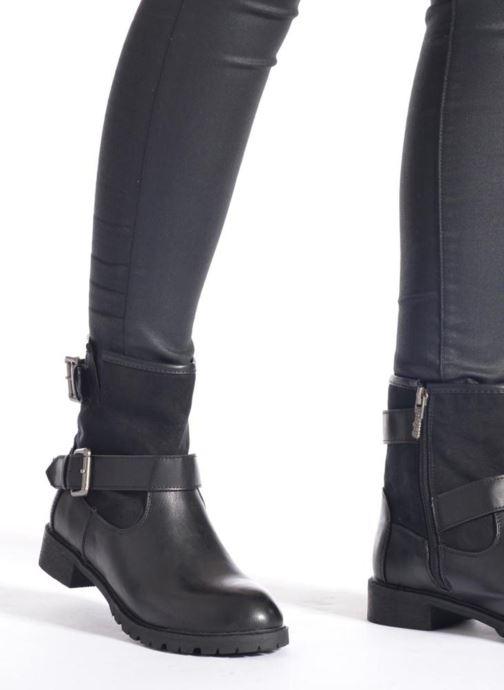 Boots en enkellaarsjes Refresh Melina-61416 Zwart onder