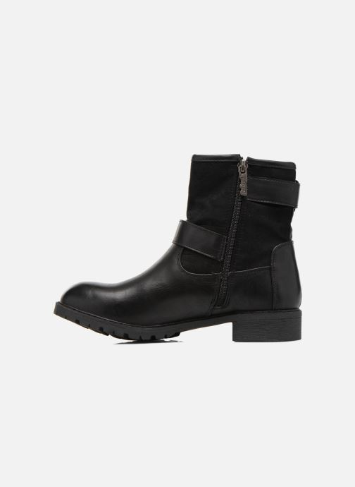 Boots en enkellaarsjes Refresh Melina-61416 Zwart voorkant