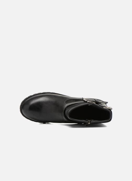 Boots en enkellaarsjes Refresh Melina-61416 Zwart links