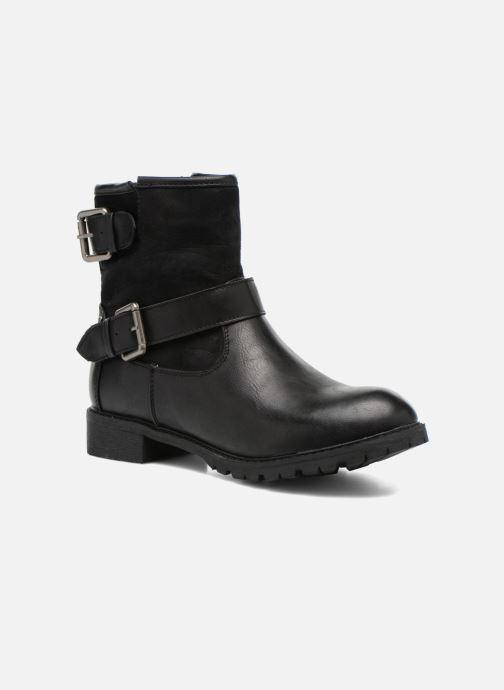 Boots en enkellaarsjes Refresh Melina-61416 Zwart detail