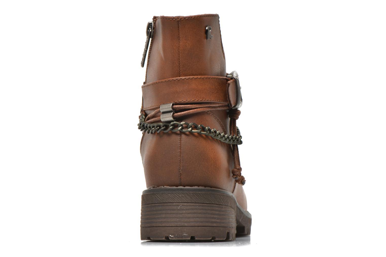 Bottines et boots Refresh Louna-61620 Marron vue droite