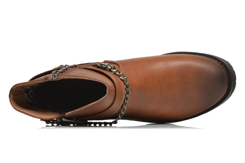 Bottines et boots Refresh Louna-61620 Marron vue gauche