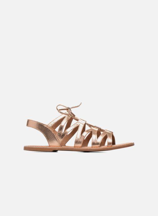 Sandalias I Love Shoes SUGLI Leather Oro y bronce vistra trasera