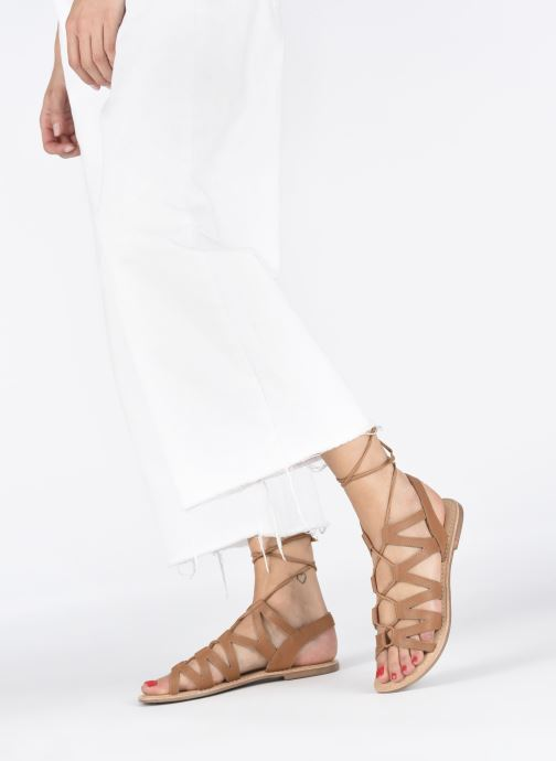 Sandalias I Love Shoes SUGLI Leather Marrón vista de abajo