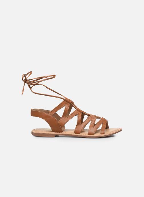 Sandalias I Love Shoes SUGLI Leather Marrón vistra trasera