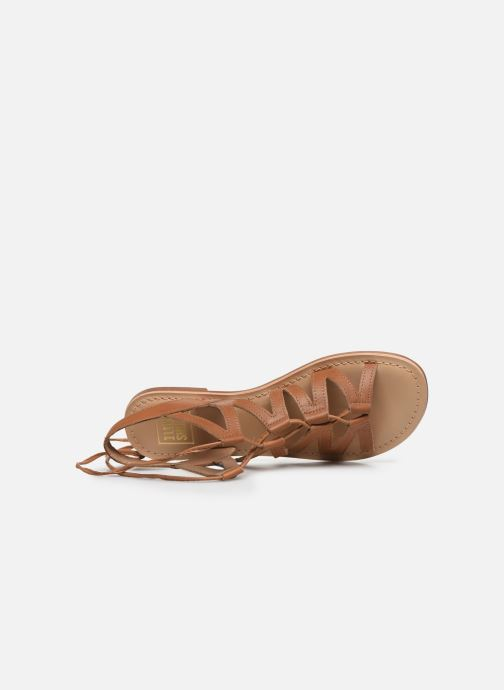 Sandales et nu-pieds I Love Shoes SUGLI Leather Marron vue gauche