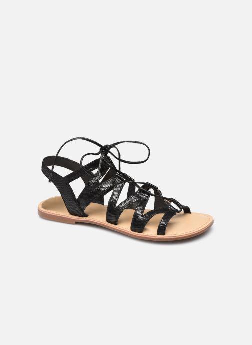 Sandalias I Love Shoes SUGLI Leather Negro vista de detalle / par
